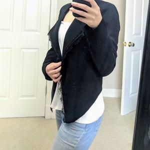 Anthropology asymmetrical blazer